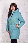 Теплая женская куртка зима 2017-2018 - (модель кт-161), фото 2