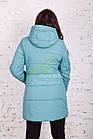 Теплая женская куртка зима 2017-2018 - (модель кт-161), фото 3