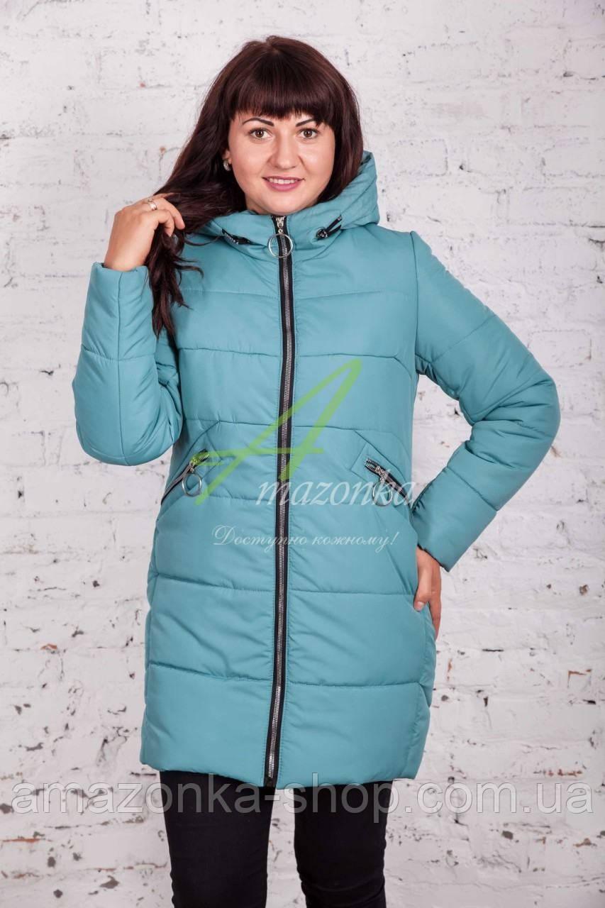 Теплая женская куртка зима 2017-2018 - (модель кт-161)