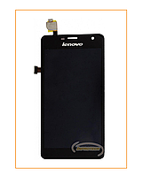 Дисплей (LCD) Lenovo K860 с сенсором (тачскрином) Black Original