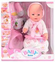 Пупс Baby Born с аксессуарами (8 функций) BL 010 B