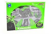 Конструктор Мотоцикл 2006 Kawasaki ZX-10R, фото 1