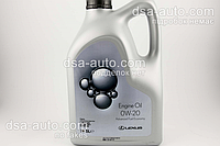 Масло 0W20 Lexus  5л API SN; ILSAC GF-5 бензин