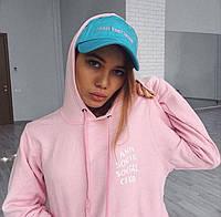 """Толстовка с принтом Antisocial Social Social Club"""" A.S.S.C. Розовая женская"""