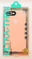Чехол на Айфон 7 Плюс Totu Soft Series ТПУ с защитой камеры Прозрачный
