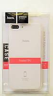 Чехол на Айфон 7 Плюс Hoco Soft Shell ТПУ Матовый Прозрачный, фото 1