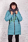 Женское пальто от производителя батальных размеров зима 2017-2018 - (модель кт-170), фото 4