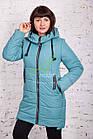 Женское пальто от производителя батальных размеров зима 2017-2018 - (модель кт-170), фото 5