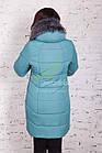 Женское пальто от производителя батальных размеров зима 2017-2018 - (модель кт-170), фото 6