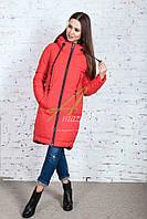 Длинное женское пальто сезона зима 2017-2018 - (модель кт-179), фото 1