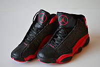 Кроссовки баскетбольные Nike Jordan детские, черно-красные. 37.5-41р. Сток, ретро.