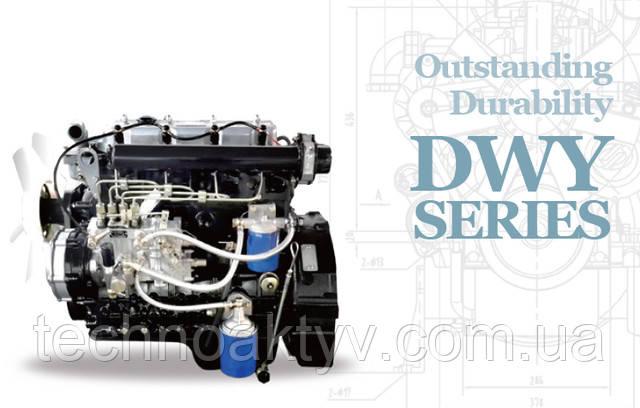 DWY - серия двигателей DAEWOO - выдающаяся долговечность