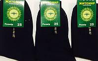Носки мужские демисезонные «Житомир» 25 размер, чёрные