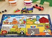 Ковер в детскую комнату Confetti 133*190 - Animal World