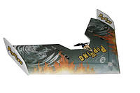 Летающее крыло Tech One Popwing 900мм EPP ARF (зеленый, черный)