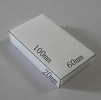 Губка Меламиновая 10см*6см*2см Белая