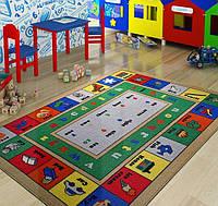 Ковер в детскую комнату Confetti 133*190 - Lesson голубой