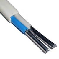 Провод АВВГ 2х4,0 кв.мм ГОСТ (виниловый гибкий белый)  только бухтами!