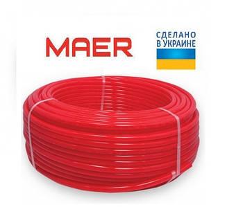 Труба из сшитого полиэтилена MAER PE-RT 16x2.0mm(Украина)