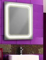 Зеркало с лэд подсветкой для ванной комнаты d-55