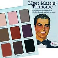 Палитра матовых теней Meet Matt(e) Trimony от The Balm