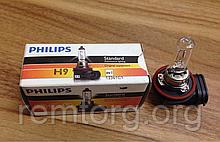Автомобільна лампа PHILIPS H9 12V 65W PGJ19-5, 12361 C1
