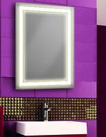 Зеркало для ванной комнаты со светодиодной подсветкой.