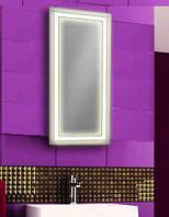 Зеркало c LED подсветкой для ванной влагостойкое d-60 500х1100 мм