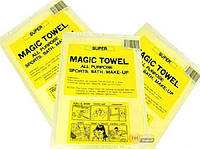 Чудо-салфетка влаговпитывающая Magic towel, 20*15см. 4шт/уп