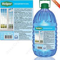 Моющее средство для стекла и зеркал Helper 5 л