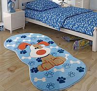Ковер в детскую комнату Confetti 80х150 - Snopy голубой