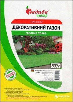 Трава газонная Декоративная (DSV Euro Grass ), 100 г — семена газонной травы для подсева и основного посева, фото 2