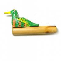 "Музыкальный инструмент ""Крякающая утка"" зеленая 11х5,5х2см (29610B)"