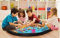 Коврик - Сумка 120см для игрушек, органайзер - коврик детский, игровой коврик 1,2м