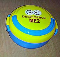 Ланч - бокс детский Kite MЕ2 Голубой\желтый (box-003.blue)
