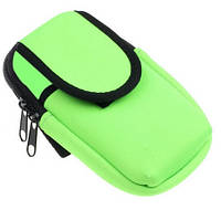 Чехол спортивный наручный для iphone на руку TAILUP 17х11 см Зеленый (041)