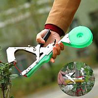 Степлер усиленный садовый Tapetool. Инструмент для подвязки винограда, овощей, цветов