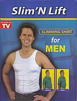 Мужская коррекционная майка Слим-энд-Лифт (Slim'N Lift), фото 1