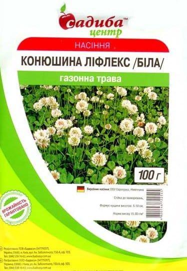Клевер белый Декор Лифлекс, 100 г — семена клевера раннеспелого