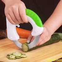 Нож дисковый, роллинг нож, круглый нож для мяса, пиццы, овощей