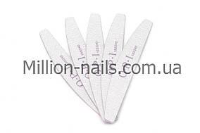 Пилка для ногтей OPI  полукруг 180/240, серая