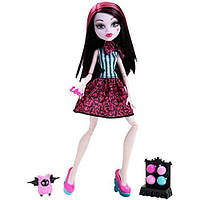 Оригинальная кукла Mattel Дракулаура Карнавал ужасов, Скарнавал, Monster High Draculaura Storytelling Scarniva