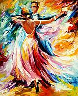 """Алмазная мозаика """"Танго"""", картина стразами 40*50см"""