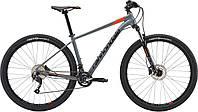 """Велосипед 29"""" Cannondale Trail 7 рама - L SGY серый с оранжевым 2018"""