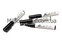 Карандаш-маркер Nail Art Pen с акриловой краской для рисования, дизайна на ногтях, цвет белый, фото 1