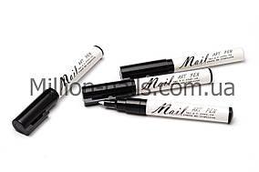 Карандаш-маркер Nail Art Pen с акриловой краской для рисования, дизайна на ногтях, цвет белый