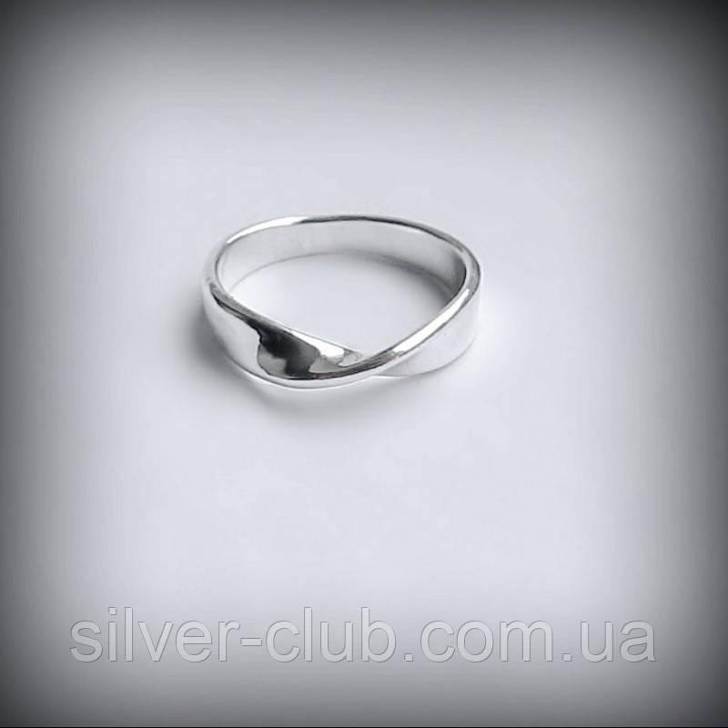 7a0814b50d01 1059 Серебряное кольцо Лента Мёбиуса - Бесконечность - 925 пробы -  Интернет-магазин серебряных изделий
