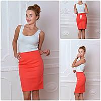 56823e151a1 Женская юбка Коралловая юбка-карандаш в Украине. Сравнить цены ...