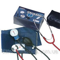 Сфигмоманометр (тонометр) измеритель артериального давления с стетоскопом Bokang CE-0197, фото 1