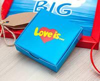 Шоколадный набор Love is 12 шоколадок
